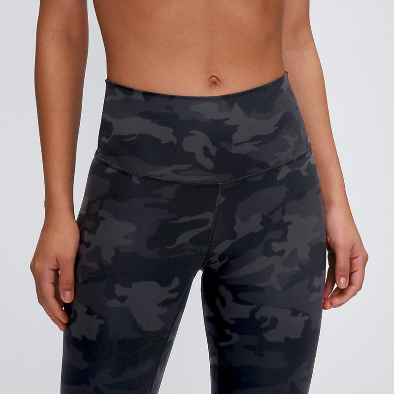 Camo Leggings Yoga Pants Mindfulness-HOP