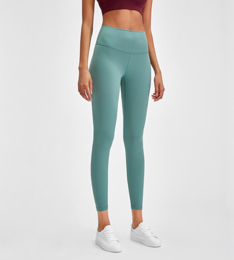 Bean Green Rythm High Waist Leggings Yoga pants Mindfulness-HOP Activewear