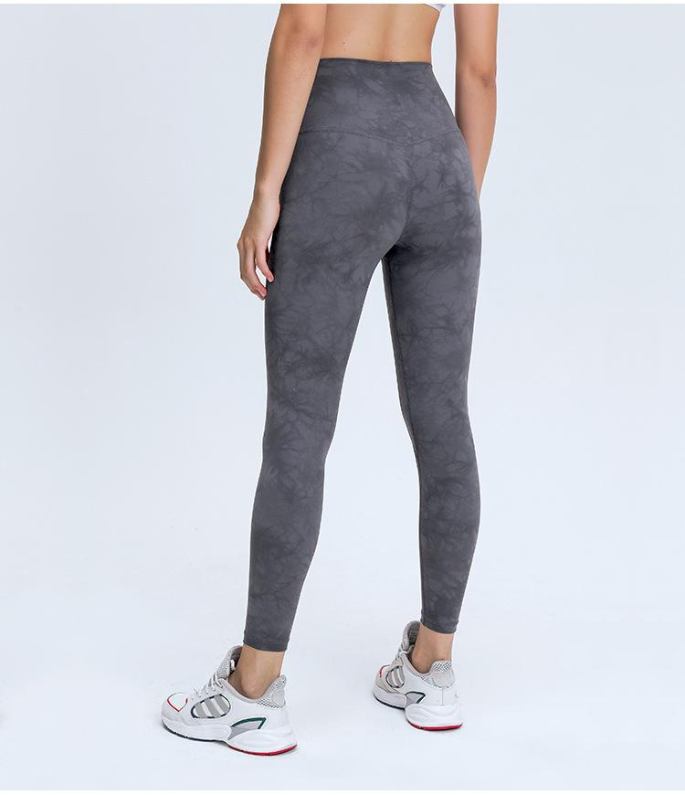 Crystal Gray High Waist Leggings Mindfulness-HOP Activewear