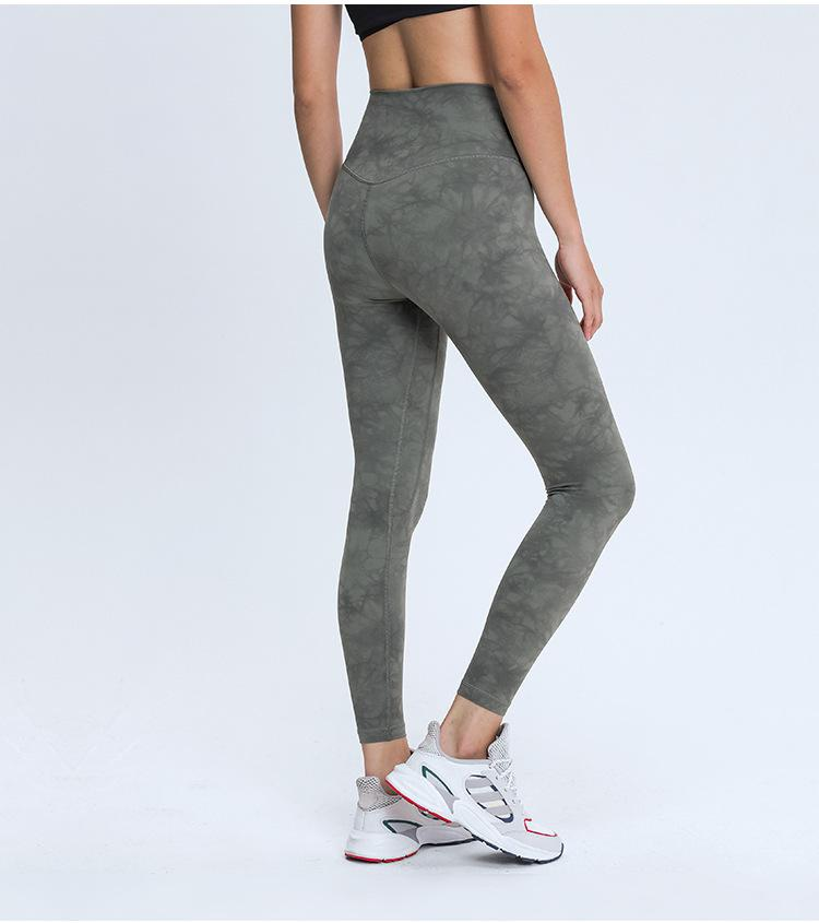 Crystal Army High Waist Leggings Yoga pants Mindfulness-HOP Activewear