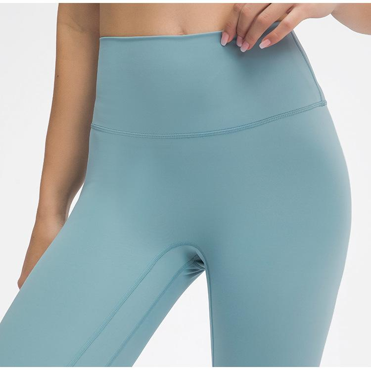 Cyan Frost Prana High Waist Leggings Yoga pants Mindfulness-HOP Activewear