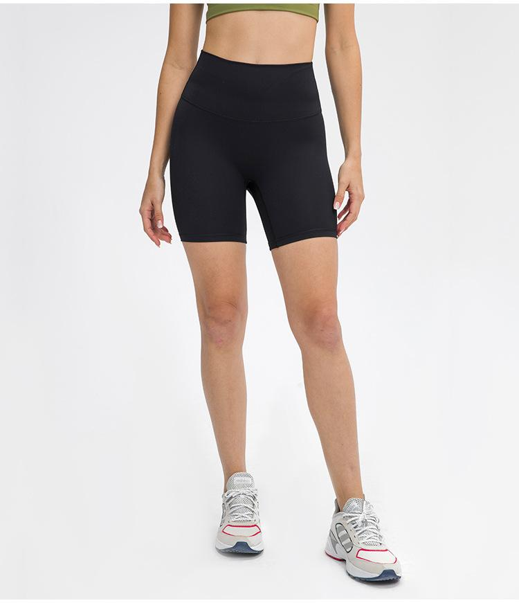Black Samadhi No Camel Toe Shorts shorts Mindfulness-HOP Activewear