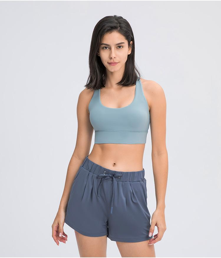 Cyan Frost Bandha Sports Bra bras Mindfulness-HOP Activewear