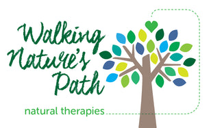 Walking Nature's Path logo and header.