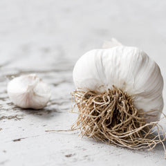 raw garlic for immune health tips