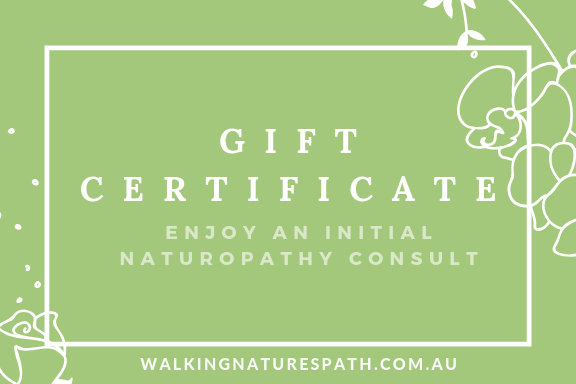 Gift Certificate - Walking Nature's Path
