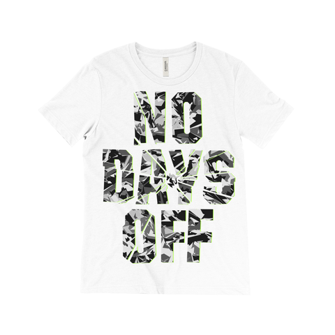 No Days Off Tee - Camouflage Collection