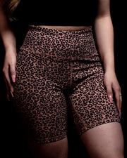 Cheetah Biker Shorts