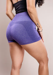 Purple - Seamless Booty Shorts