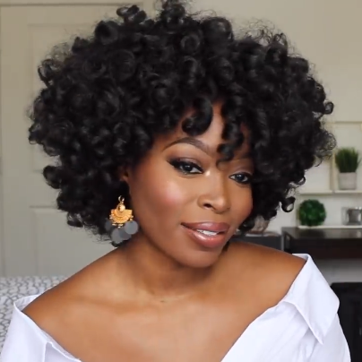Hot Sale- Afro Short Curly Wig