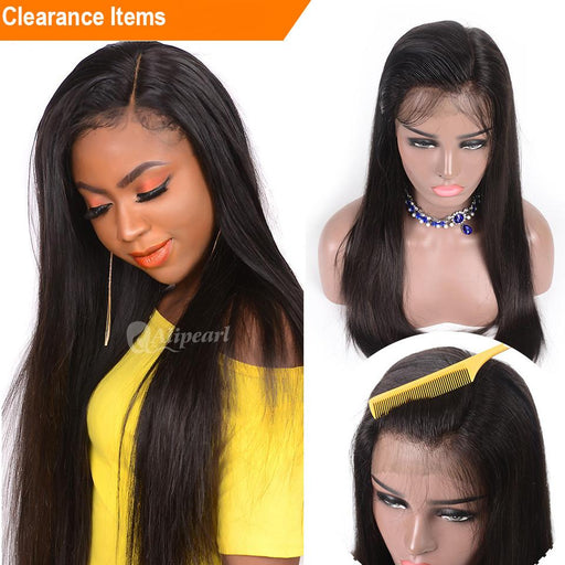 December 2018 Lace Front Lace Hair Wigs Brazilian Straight Hair Wigs Natural Color