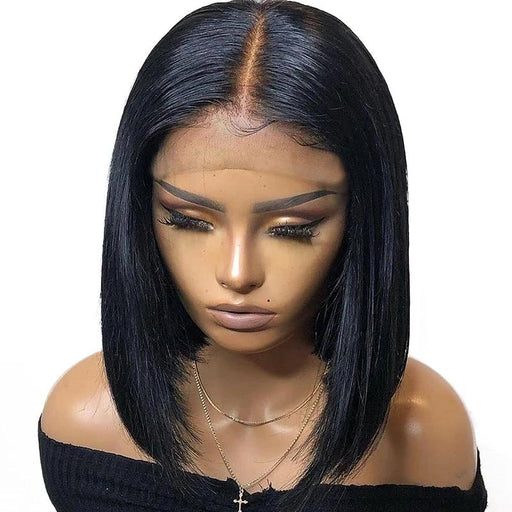 Brazilian Straight Bob Natural Wig Lace Frontal Wig