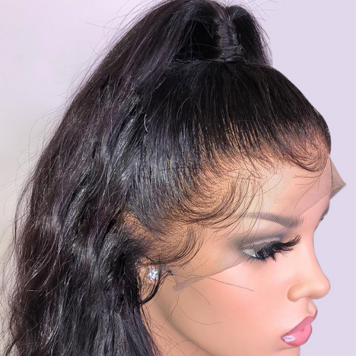 January 2019 Lace Front Lace Hair Wigs For Remy Brazilian Black Straight Lace Wig