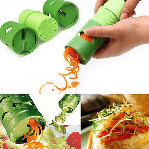Multi-function Vegetable Fruit Cucumber Turning Cutter Slicer Fruit Vegetable Device