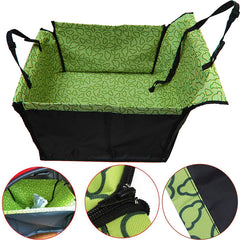 Pet Dog Cat Car Rear Back Seat Carrier Cover Pet Dog  Mat Blanket Cover Mat Hammock Cushion Protector Washable Double Layer