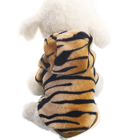 dog clothes for small dogs Leopard dog winter jumpsuit dog jaket winter warm pet clothes cat hondenkleding