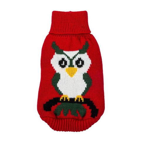 Owl pet clothes sweater dog jaket winter warm Pet Dog Pet Products Sweatshirt  roupas para cachorro