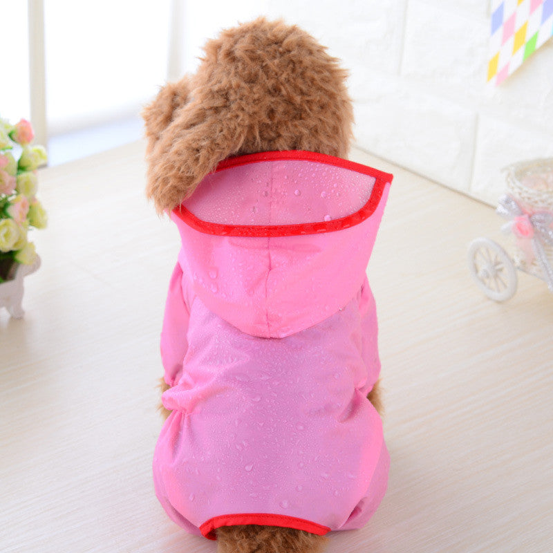 Dog Raincoat Waterproof for small animals