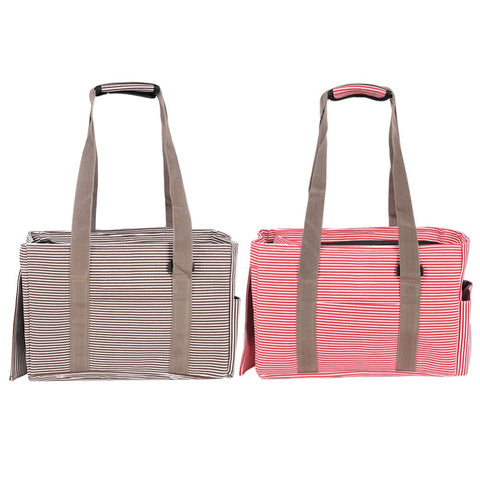 Breathable Pet Dog Carrier Bag Canvas Dog Travel Shoulder Bags for Dog Puppy Cats Portable Tote Pet Carrier 2 Colors