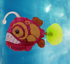 Aquarium New Arrival Funny Swim Electronic fish Activated Battery Powered Toy Pet for Fishing Tank Decorating Fish Lantern fish