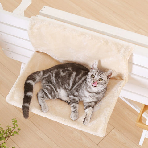 High-quality Pet Kitten Cat Bed Warm Stable Pet Cats Hanging Chair Portable Pet Kitten Cat Supplies