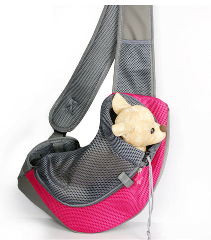 New Pet Carrier Carrying Cat Dog Puppy Small Animal Sling Front Carrier Mesh Comfort Travel Tote Shoulder Bag Pet Backpack