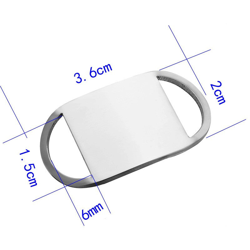 Dog ID Clip, Stainless Steel