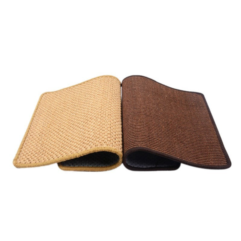 Sisal Cat Bed Summer Autumn Cats Scratch Board Chair Table Protector Paws Grinder Cat Mat Home Protection scratch Mats