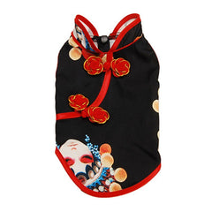 Summer Dog Dress For Dogs Clothes Cheongsam Pet Cat Dress Tulle Dog Dresses For Small Medium Dogs Chihuahua Yorkshire