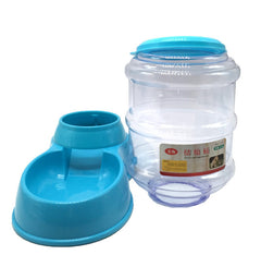 3.5L pet automatically feeding basin