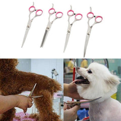 Pet Dog Professional Pet Hair Grooming Scissors Shears Set