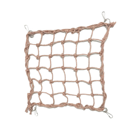 Bird Swing Hammock Climbing Net Toy with Hooks for Parrot Macaw African Greys Cockatoo Bird Cage Accessories