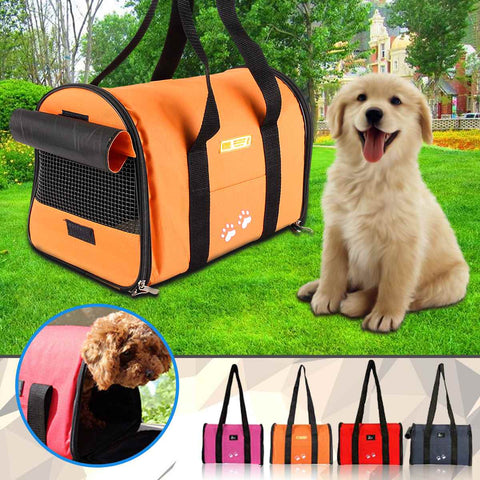 Pet Dog Folding Bag Dog Cat Portable Bag Carrier Travel Tote Bag Crate Cage Dog Carrier Bags
