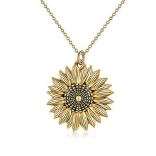 Load image into Gallery viewer, You are my sunshine sunflower necklace - Ah'riyah's Closet