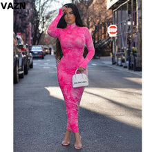 Load image into Gallery viewer, Long Turtleneck Dress - Ah'riyah's Closet