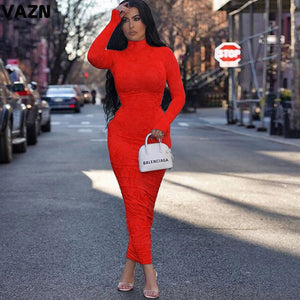 Long Turtleneck Dress - Ah'riyah's Closet