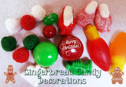 gingerbread candy decorations