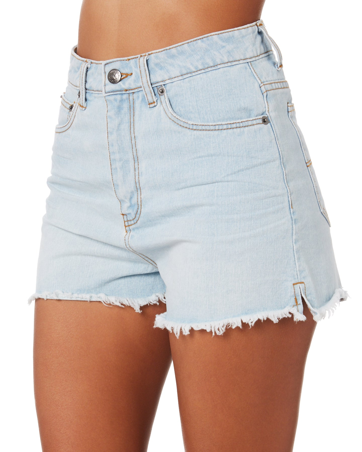 Rusty Penny Kick Flare Denim Short