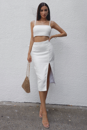 Prem Angel Midi Skirt