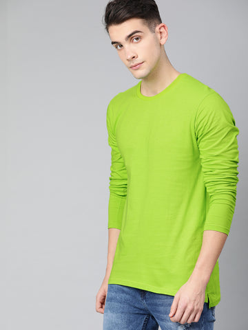 Neon Green High-Low T-shirt