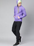 Light Purple Fleece Hoodie