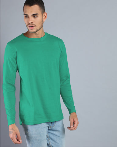 Deep Green High-Low T-shirt