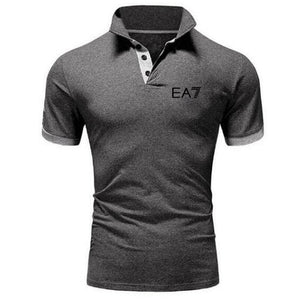 2019 Brand Clothing Men Polo Shirt Men Business Casual Solid Male Polo Shirt Short Sleeve High Quality Men Clothing - 4allshoppers