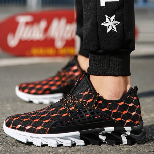 2019 Non-slip Men Running Shoes High Quality Sneakers - 4allshoppers