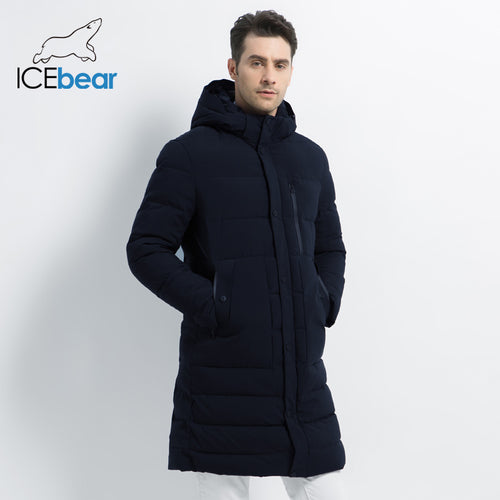New Winter Jacket Windproof Male Cotton Fashion Men's Parkas Casual Mens High Quality Coat