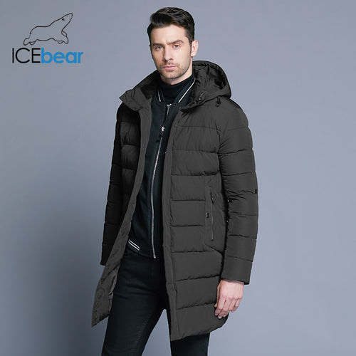 Winter Jacket Mens w/ Detachable Hood