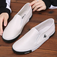 Load image into Gallery viewer, Fashion Men Casual Shoes Leather Flat Loafers - 4allshoppers