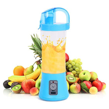 Load image into Gallery viewer, 380ml Portable Blender Juicer Cup USB Rechargeable Electric Automatic Vegetable Juicer Cup Lemon Orange Maker Mixer Bottle Drop - 4allshoppers
