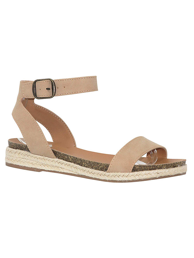 Solid Flat Heel Daily Sandals