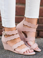Spring/fall Adjustable Buckle Sandals